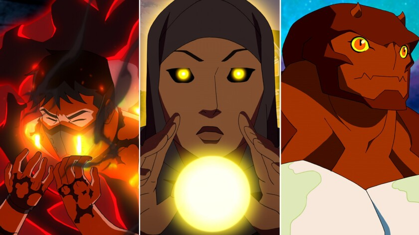 The Return Of Young Justice How Fans Came To The Rescue Of The Superhero Show Los Angeles Times