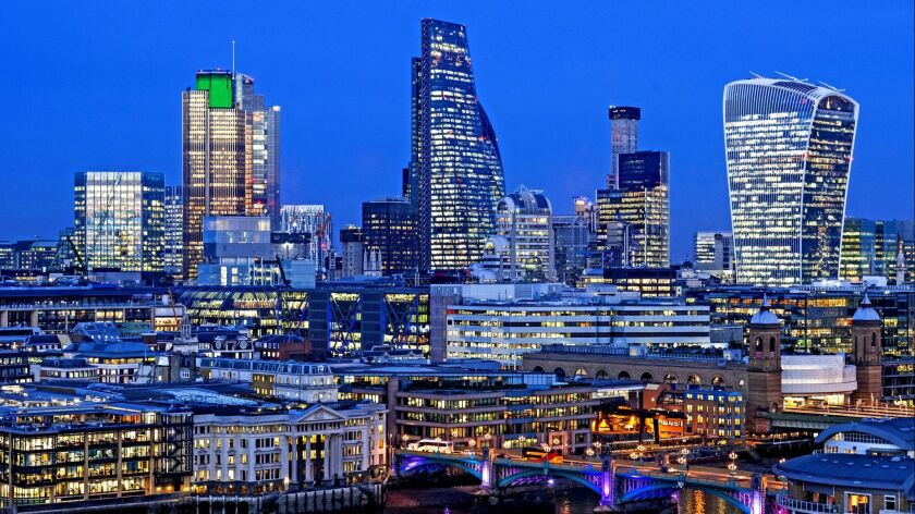 The skyline of London, to which tickets are as low as $460 on Air New Zealand.
