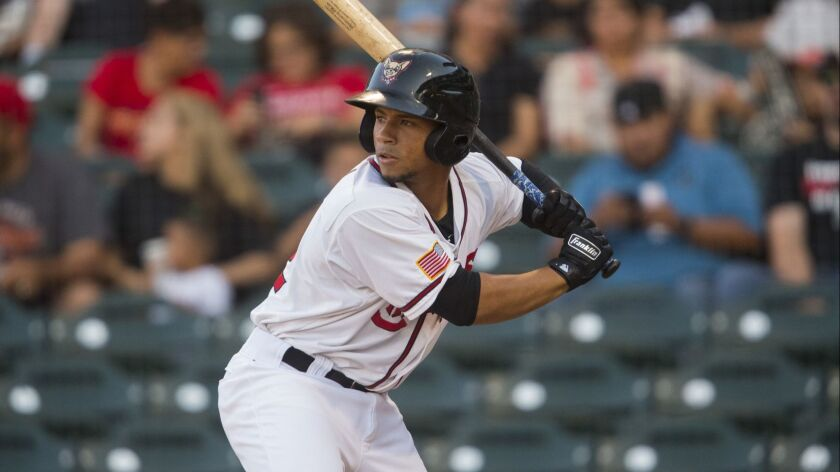 Padres catching prospect Francisco Mejia was assigned to Triple-A El Paso after arriving in a trade with the Cleveland Indians.