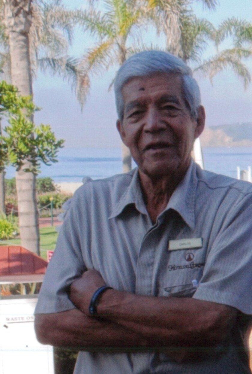 Carlos Gonzales, 86, finally retires from Hotel del Coronado after 55 years.