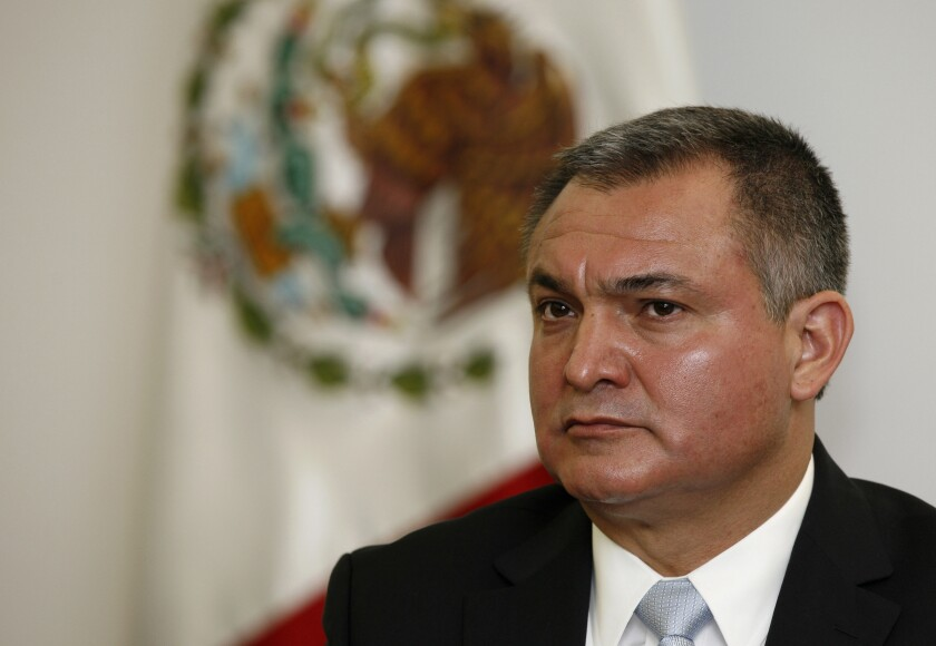 Mexico security chief indicted