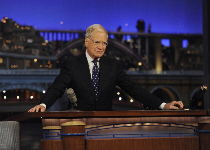 David Letterman signs off from Late Show