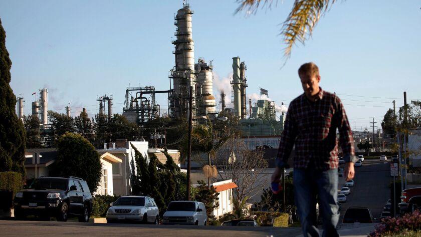 Chevron's refinery in El Segundo is one of the most productive in California.