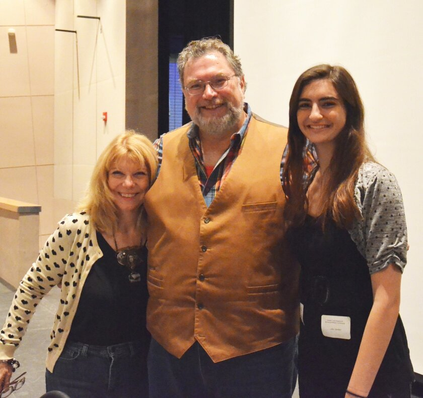 Authors Nancy Holder and Jonathan Maberry with conference organizer, Julia Camilleri. Photos courtesy of Simone Camilleri
