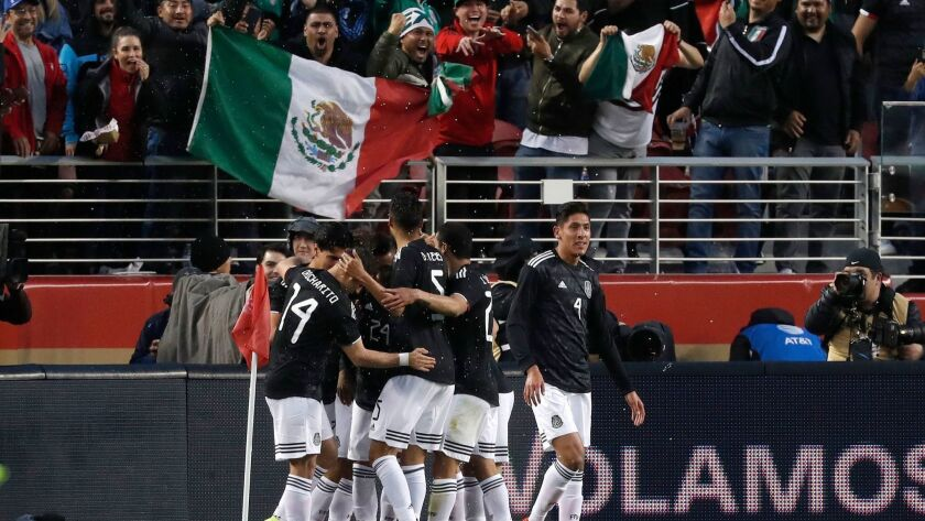Mexico vs. Paraguay - International Friendly Soccer Match, Santa Clara, USA - 26 Mar 2019