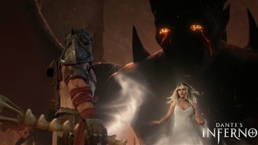 Ea Turns Dante S Inferno Into A Video Game The San Diego