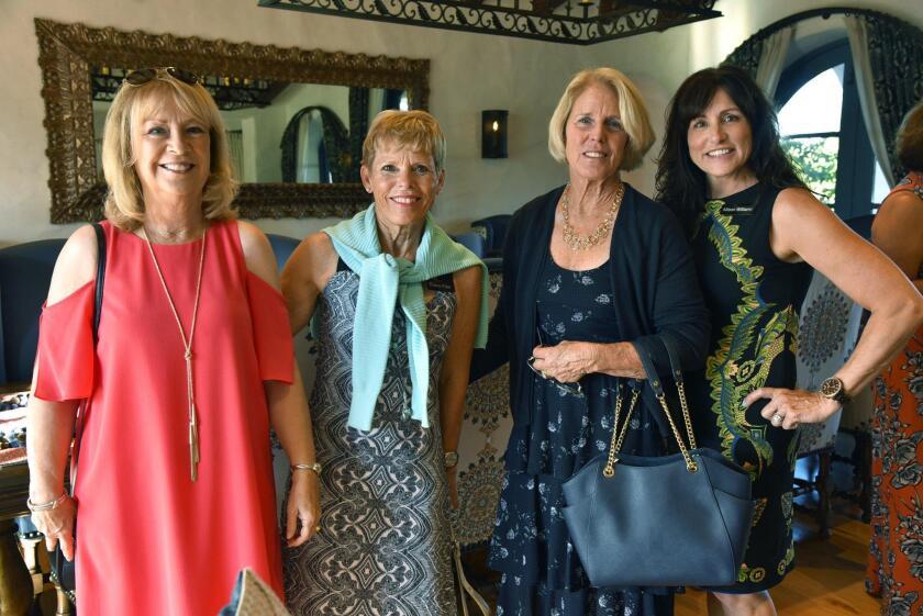 Vivian Hardage, Franci Free, Kathy Stumm, Allison Williams