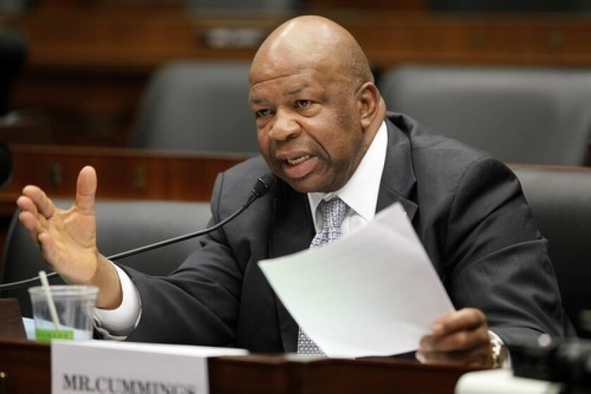 Rep. Elijah Cummings (D-Md.)