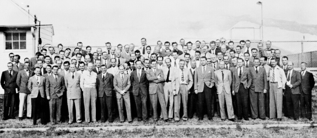 German scientists at Ft. Bliss