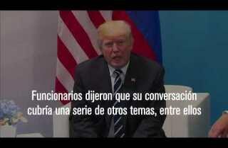 Trump y Putin se reunieron en la cumbre del G-20