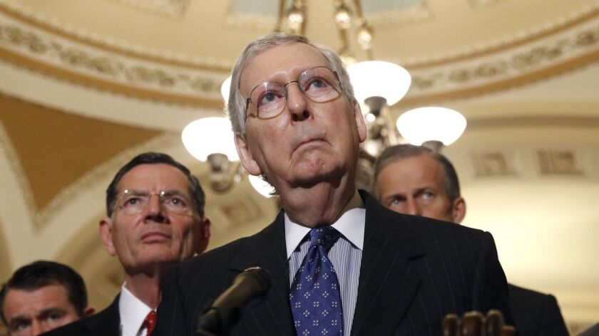 """Senate Majority Leader Mitch McConnell (R-Ky.) declares """"case closed"""" on the Russia probe."""