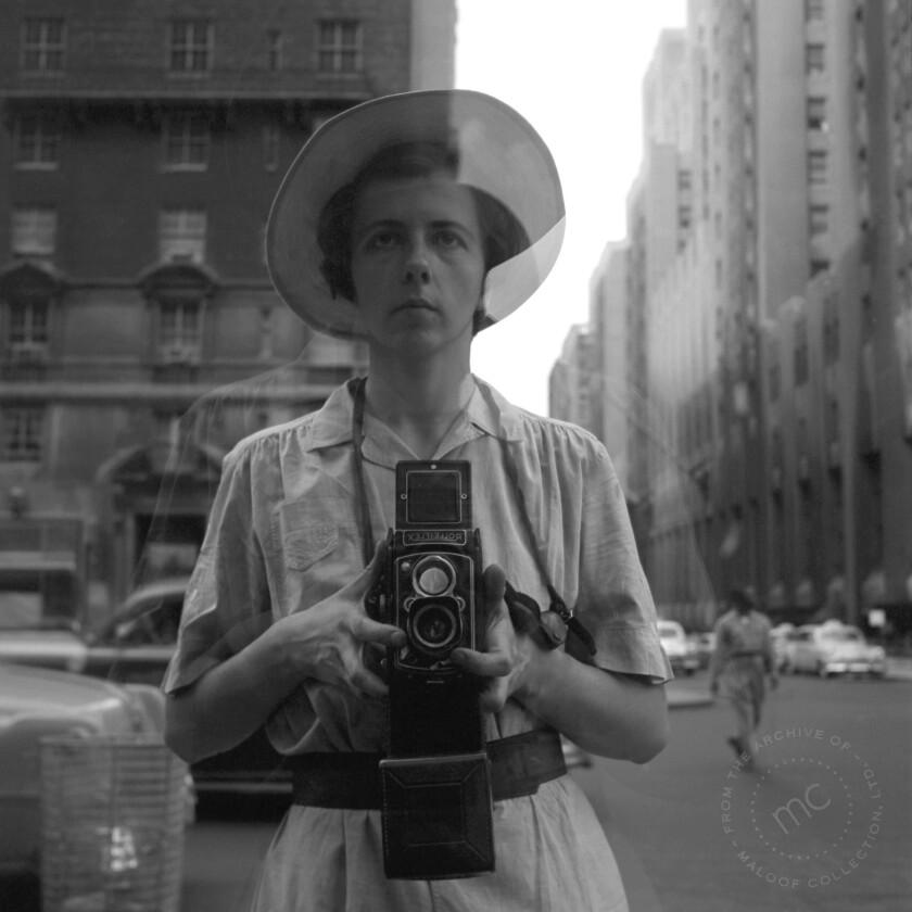 Vivian Maier Self Protrait