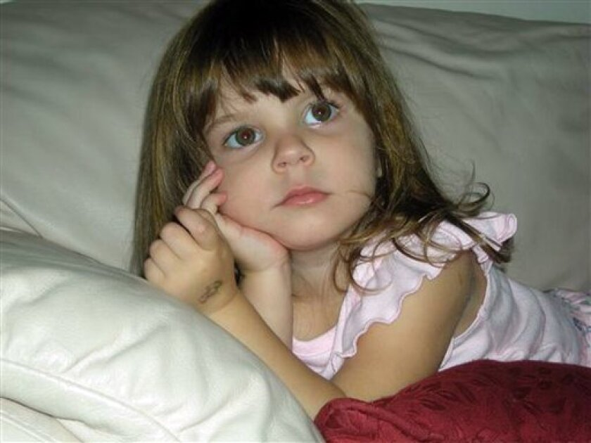 This undated file photo released by the Orange County Sheriff's Office in Orlando, Fla., shows Caylee Marie Anthony.