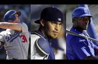 Bill Plaschke's Wakeup Call: the Dodgers' three wild cards