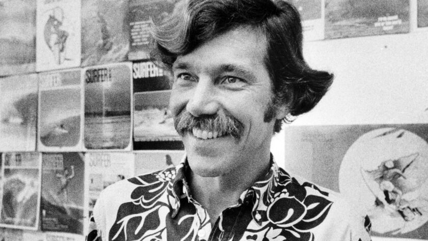 John Severson, founder of Surfer Magazine, in 1979.