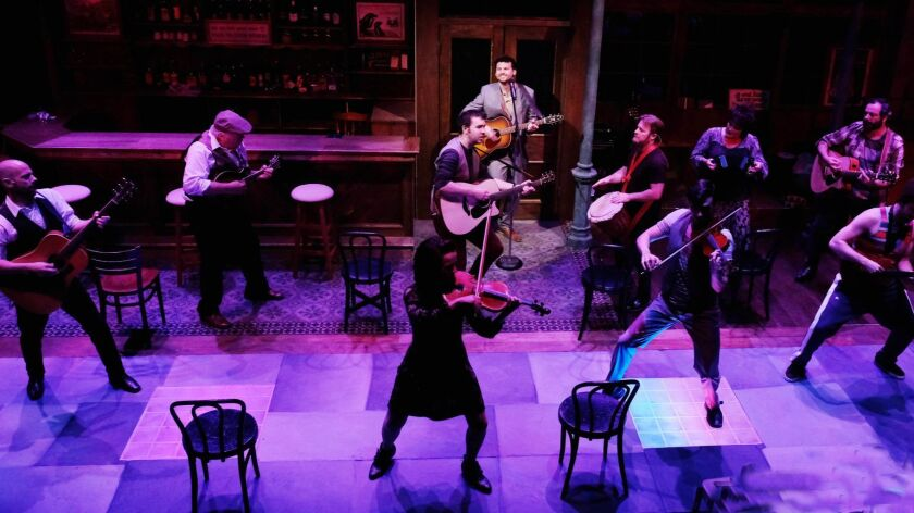 Review: 'Once' is a singularly memorable musical trip at Lamb's