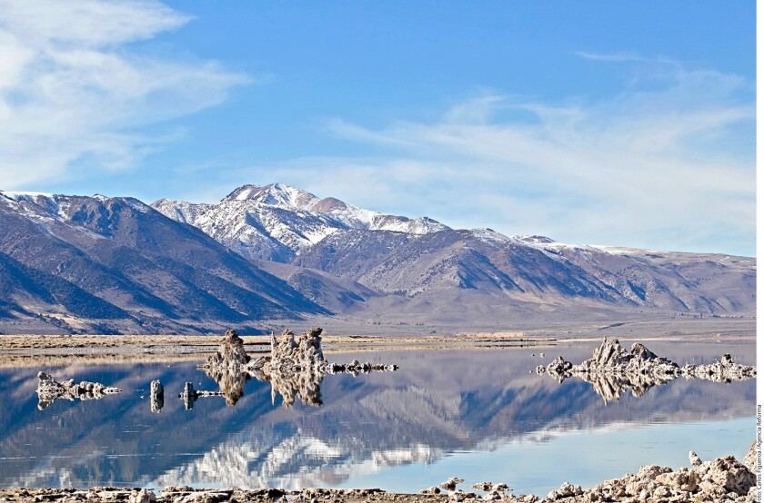 La Sierra Nevada, en California, ofrece uno de los paisajes mas espectaculares del oeste de Estados Unidos.