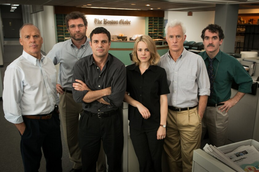 A 'Spotlight' on the actors and the Boston journalists they portrayed