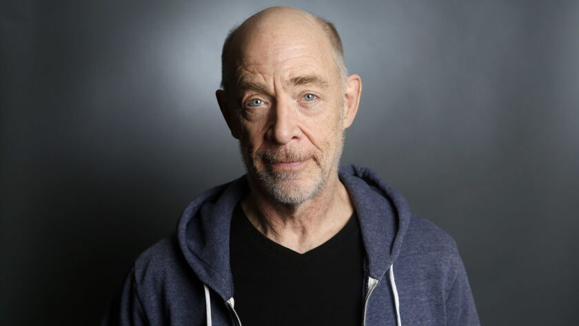 LOS ANGELES, CA-April 30, 2018: JK SImmons is photographed at the London Hotel in West Hollywood. Si