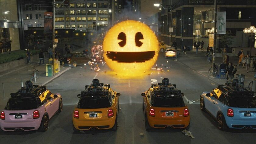"""Pac-Man made a return in 2015 on the Columbia Pictures' movie, """"Pixels."""""""