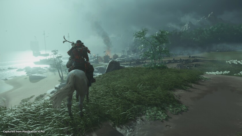 'Ghost of Tsushima,' coming to the PlayStation 4, pulls heavily from samurai movies.