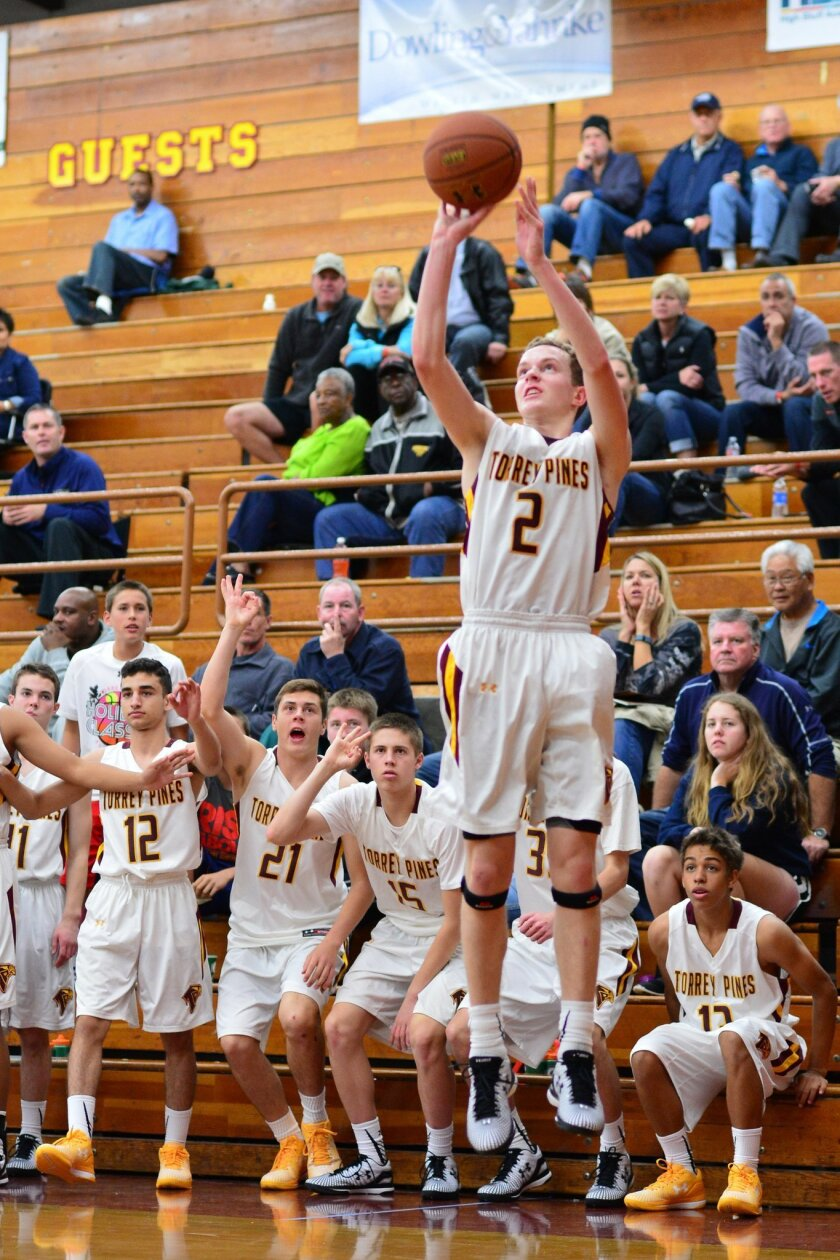 Torrey Pines basketball star Timmy Saunders cites the camaraderie of his team as the reason for their successful current season.