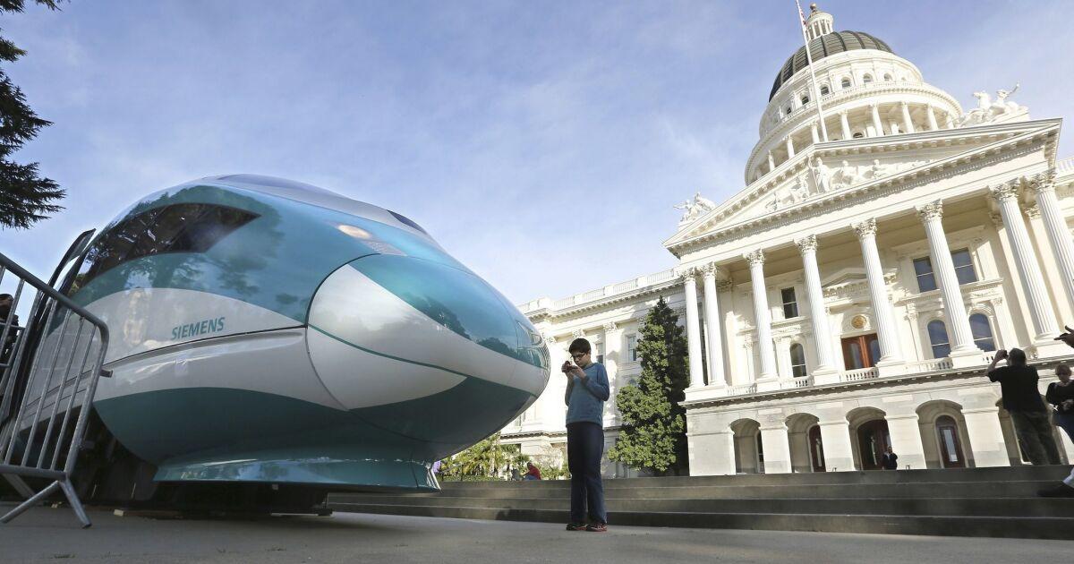 監査のカリフォルニア高速鉄道が不十分な連邦監督