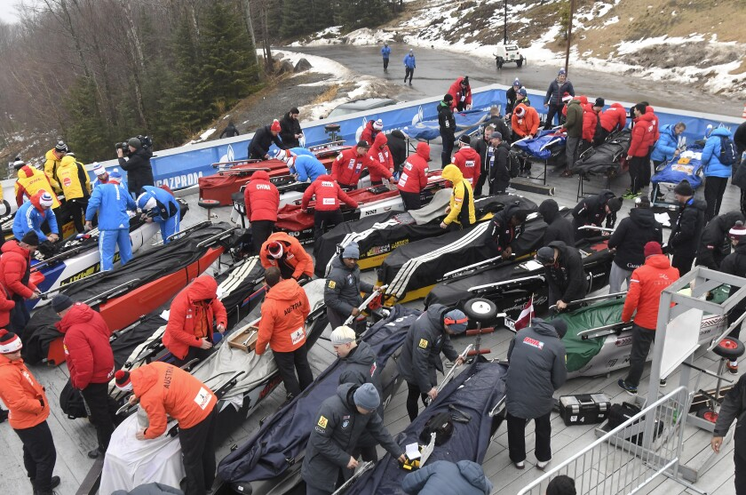 World Cup Bobsled