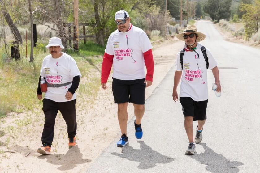 Caminata Salvando Vidas.