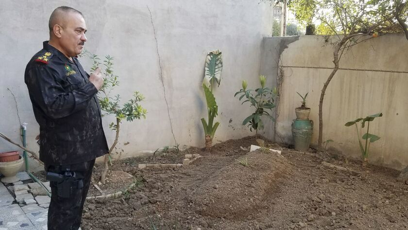 Mosul police chief Wathaq Hamdani, 56, is from Zahour, where he buried his mother two months ago after she died in a mortar strike during the offensive.