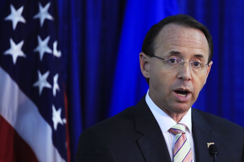 Deputy Attorney General Rod Rosenstein proposed wearing a wire to secretly record President Trump, according to sources.