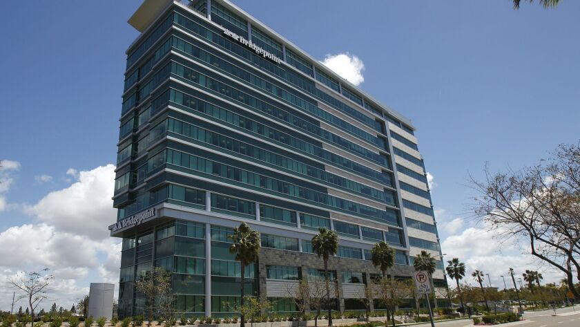 April 29, 2010, San Diego, Ca. -- Bridgepoint Education resides in the Sunroad building in Kearny M