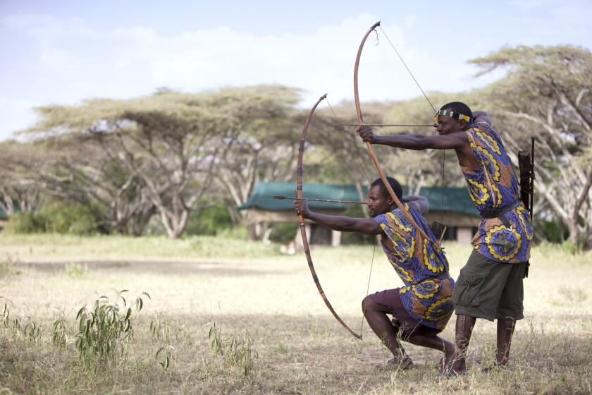 Add another string to your bow while exploring with the Hadzabe on Extraordinary Journeys' Serengeti safari.
