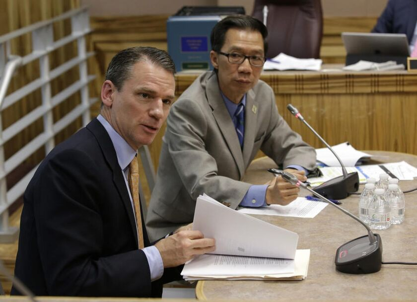 Alastair Mactaggart, the sponsor of a proposed internet privacy initiative, backed a similar bill by Assemblyman Ed Chau.
