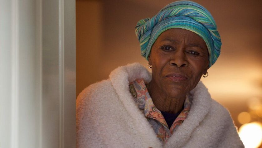 """Cicely Tyson, in Richard Linklater's """"Last Flag Flying,"""" her most recent film role, will be honored with a hand- and footprint ceremony at the Chinese Theater during the 2018 TCM Classic Film Festival."""