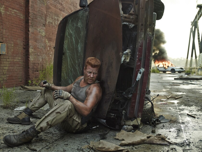 """Michael Cudlitz as Sgt. Abraham Ford in """"The Walking Dead."""""""