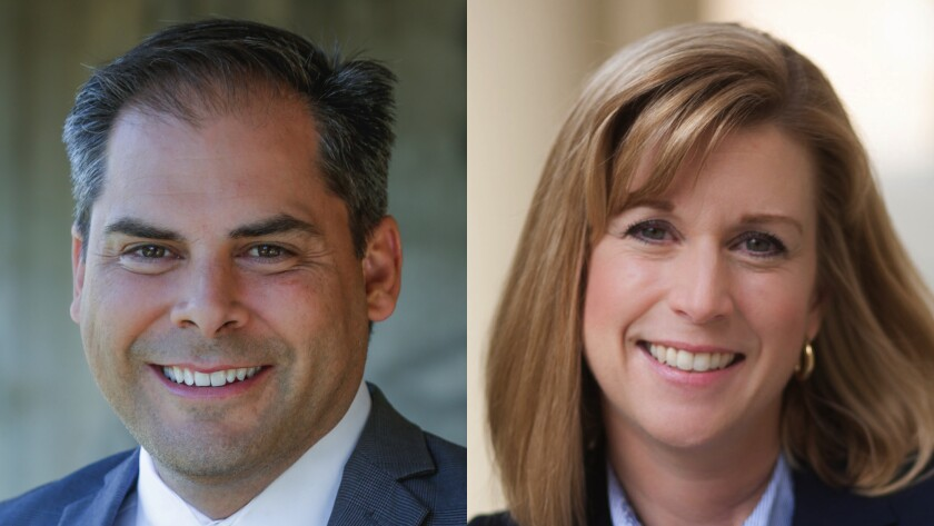 Republican Mike Garcia and Democrat Christy Smith are battling in a competitive special election to represent California's 25th Congressional District.