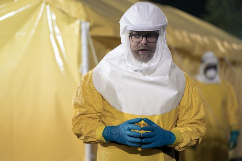 """Rainn Wilson as Dr. Michael Stearns in """"Utopia."""""""