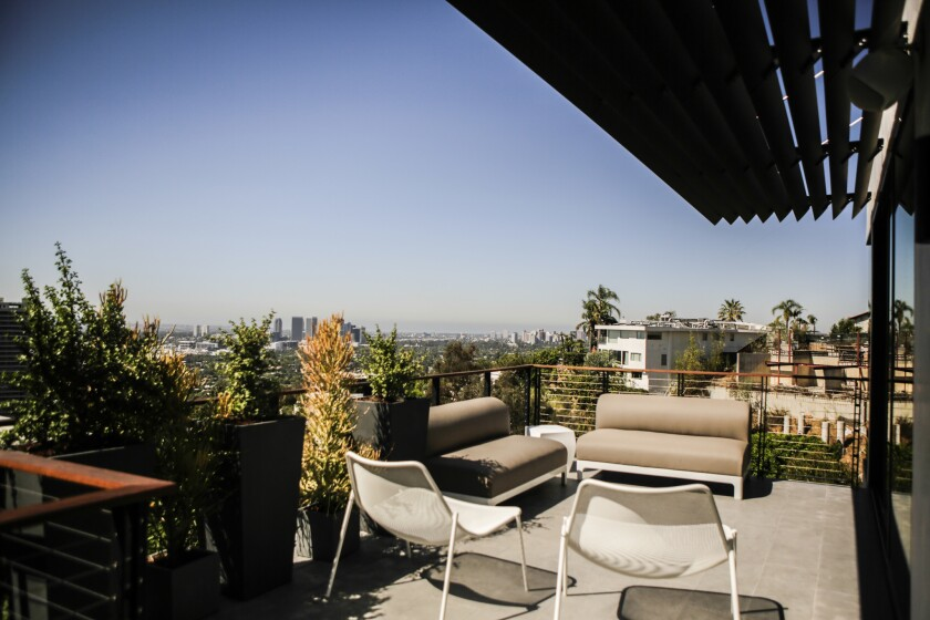 Designing a fire-resistant home in the Hollywood Hills