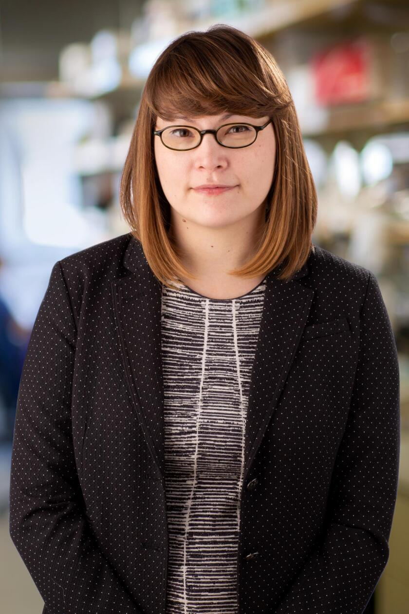 Dannielle Engle, assistant professor at the Salk Institute for Biological Studies in La Jolla.