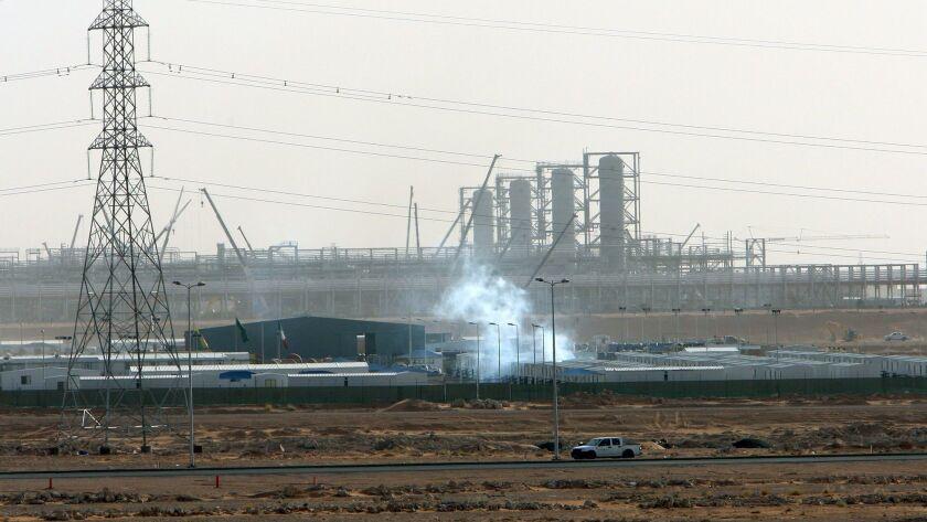 Saudi Aramco oil infrastructure attacked, Riyadh, Saudi Arabia - 23 Jun 2008