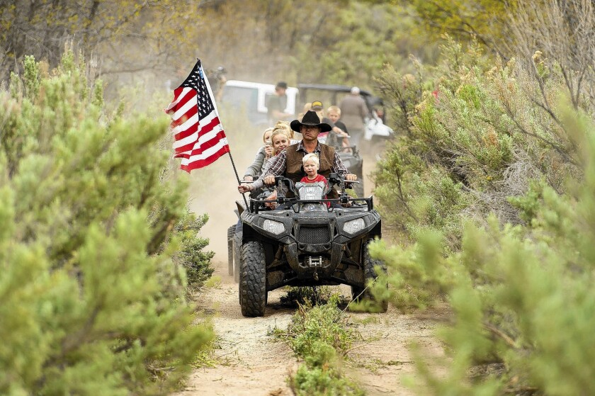 Protesters in Utah drive ATVs onto federal land —