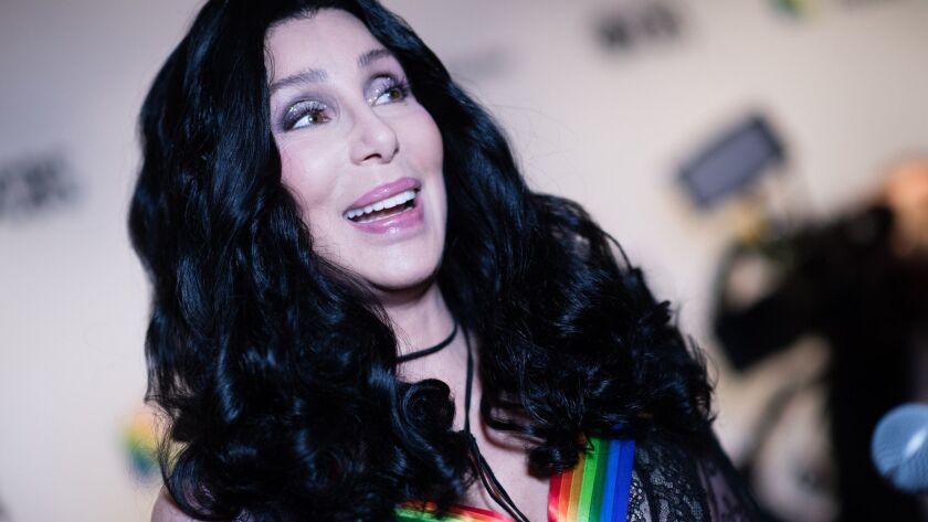 Singer and actress Cher walks the red carpet for the 41st Kennedy Center Honors on Dec. 2 in Washington, D.C.