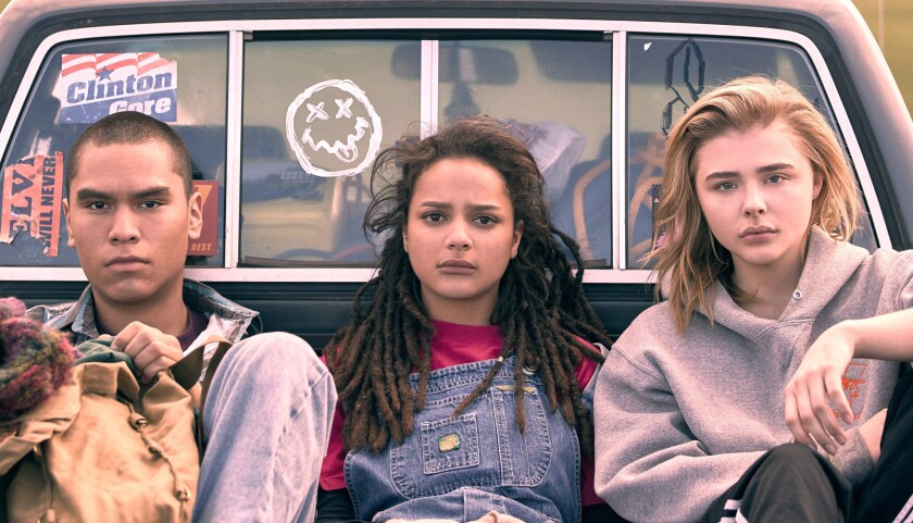 Forrest Goodluck, Sasha Lane and Chloë Grace Moretz appear in <i>The Miseducation of Cameron Post</