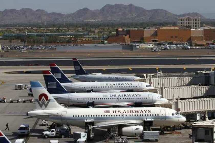 US Airways, with the backing of three American Airlines unions, is eager for a merger with the bankrupt airline.