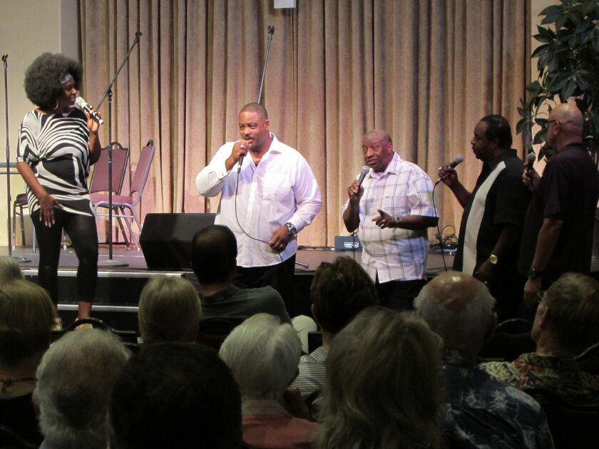Angela Petty is joined by Remembrance Quartet at La Jolla's first interfaith concert and barbecue event, Sept. 19.