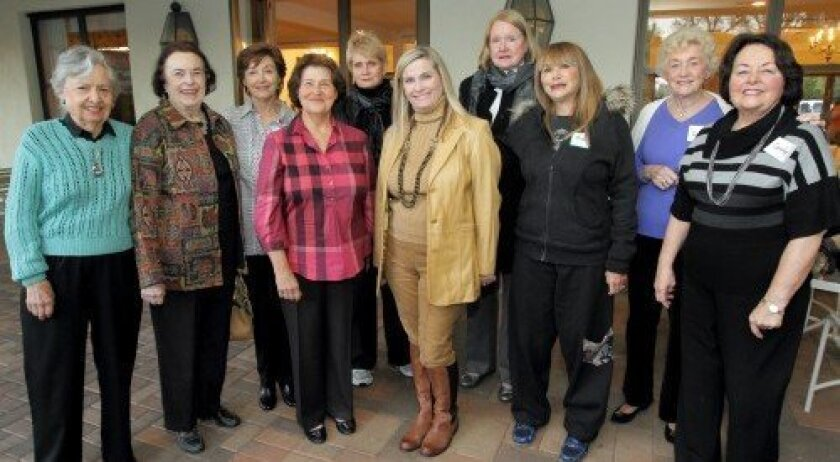 The 2012 RSF Garden Club Volunteers of the Year (Photo/Jon Clark)