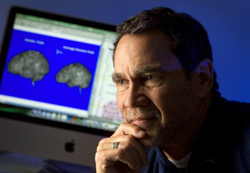 UC San Diego neuroscientist Eric Courchesne