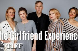 'The Girlfriend Experience' creators Amy Seimetz and Lodge Kerrigan talk TV versus film