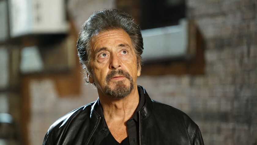 """Al Pacino in a scene from the movie """"Hangman."""" Credit: Saban Films / Lionsgate"""